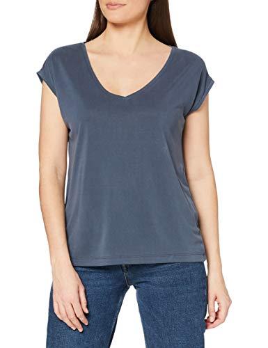 PIECES Damen PCKAMALA Tee NOOS BC T-Shirt, Ombre Blue, S