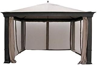 Tiverton (Series 1) Gazebo Replacement Canopy and Netting - RipLock 350