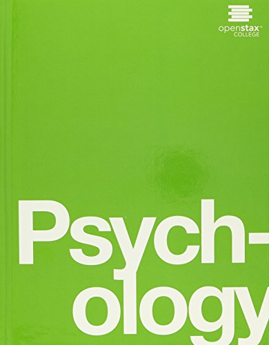 Psychology by OpenStax (hardcover version, full color)
