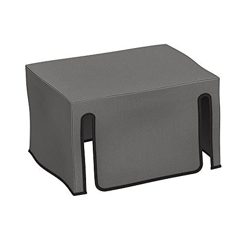 kwmobile Cover Compatible with Epson WorkForce WF-2830DWF / WF-2835DWF / WF-2850DWF - Dust Cover Printer Protector - Dark Grey