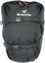 Moosetreks Front or Rear Rack Zipper Pannier Set with Waterproof Rain Covers