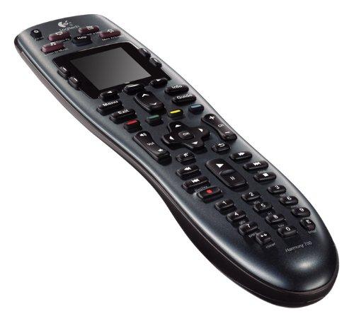 Logitech Harmony 700 - Mando a distancia (Botones, LCD, 38.1 mm (1.5