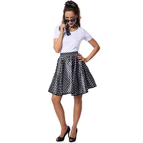 dressforfun 900467 - Damenkostüm Rock 'n' Roll Baby, Sexy Outfit im Stil der 50er Jahre (L | Nr. 302137)