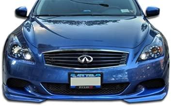 Extreme Dimensions Duraflex Replacement for 2008-2015 Infiniti G Coupe G37 J-Spec Front Lip Under Spoiler Air Dam (Sport Model) - 1 Piece