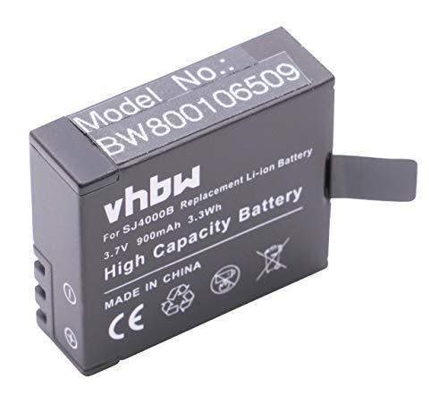 vhbw batería Compatible con Nexgadget Action Camera cámara de vídeo, videocámara (900mAh, 3,7V, Li-Ion)