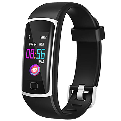 Fitness Tracker, Smat Watch with Heart Rate Monitor, Activity Tracker with IP68 Waterproof Pedometer Fit Watch with Sleep Monitor, Pedometer Watches Step Counter for Women and Men