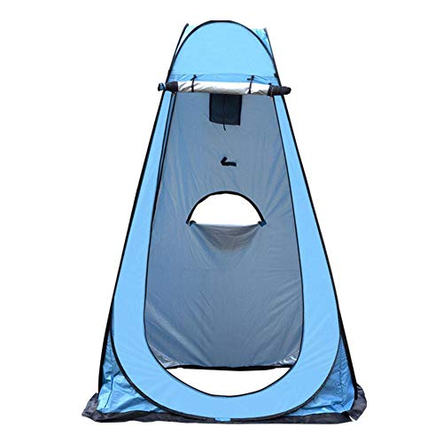 Banane Portable Shower Tent Changing Tent - Instant Outdoor Shower Tent Camping Toilet Rain Cover for Camping Hiking Beach Toilet Shower Bath, Easy to Set Up Foldable - With Carry Bag