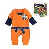 Cartoon Strampler Dragon Ball Z Goku Baby Strampler Kleinkind Baby Strampler Jumpsuit (73)