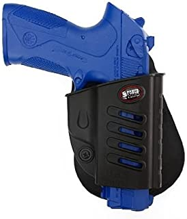 Belt Fobus Gun Holster Paddle Black Right Hand RH for BRS-BH Fobus Holster For Beretta Storm PX4 full-size & compact / Beretta Storm Special Duty SD - Type F / FNP9, FNP40, FNX9, FNX40 / BROWNING PRO 9, 40 / Taurus PT-800 PT-809 and PT-845 / Baikal MP-446 + Best Security Gear Magnet