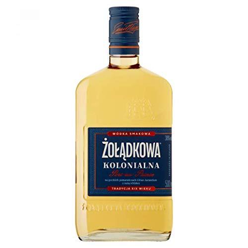 """Zoladkowa Kolonialna """"Port-au-Prince """" 500ml Wodka 38% Vol. feine Melnage von Wodka und einem Hauch von Whiskey"""
