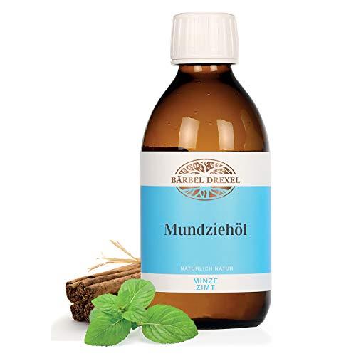 BÄRBEL DREXEL® Zii Öl Natürliches Mundziehöl Pfefferminze (250ml) Ayurvedische Mundspülung zum...