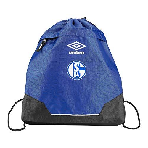 FC Schalke 04 Turnbeutel blau, Gym Bag, Sportbeutel, Rucksack S04 - Plus Lesezeichen I Love Gelsenkirchen
