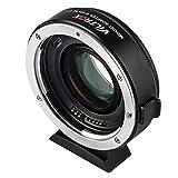 VILTROX EF-EOS M2 - Adattatore per obiettivo Canon EF a EOS EF-M Mirrorless M Series M2 M3 M5 M6 M10 M50 M100 M200, riduzione della messa a fuoco automatica, potenziatore di velocità 0,71