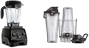 Vitamix Professional Series 750 Blender, Professional-Grade, 64 oz. Low-Profile Container, Black, Self-Cleaning - 1957 &...