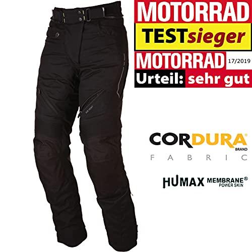 Modeka Damen Motorradhose AMBER LADY wasserdicht Cordura Humax 3M Protektoren, 68