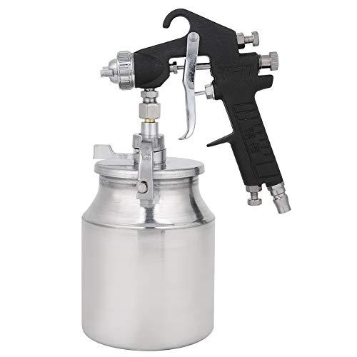 Pistola de pulverización neumática, con acero inoxidable y oro negro consumo de energía de equipo avanzado fabricación de pintura rociador Spot