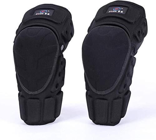 Yughb Rodilleras, protector de la rodilla rodilleras Brace Hombres Mujeres, prevención de colisiones Rodillas gruesa esponja rodilla de manguitos de apoyo for el Deporte Voleibol Baloncesto Ciclismo E
