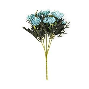 Emorias 1 Piezas Ramo de Flores de Margaritas Artificiales para Madre Esposa Hermana Amigos Flor de Seda para el hogar…