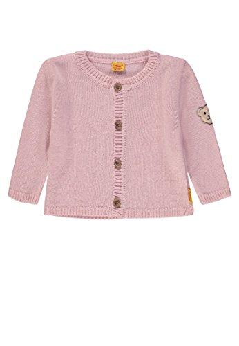 Steiff Baby-Mädchen 1/1 Arm Strickjacke, Rosa (Barely Pink|Rose 2560), 80