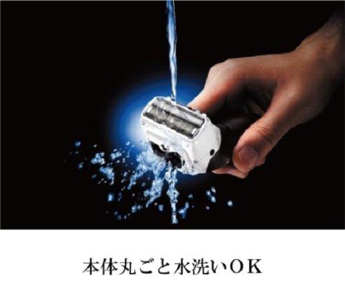 パナソニックメンズシェーバーボディ用お風呂剃り可白ER-GK40-W