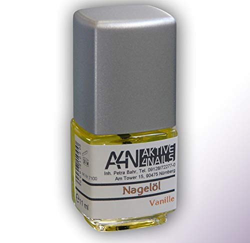 Nagelöl Vanille hochwertiges Pflegeöl mit Vitamin A, E. 11ml