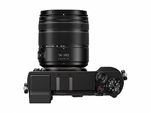 Panasonic Lumix DC-GX9HEG-K Systemkamera (20 MP, Dual I.S., Klappsucher, 4K, Touchscreen, 14-140 mm Objektiv, schwarz)