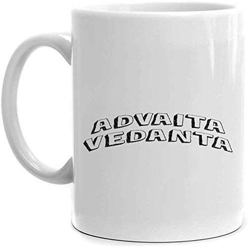 Taza de estilo clásico Advaita Vedanta 11 onzas