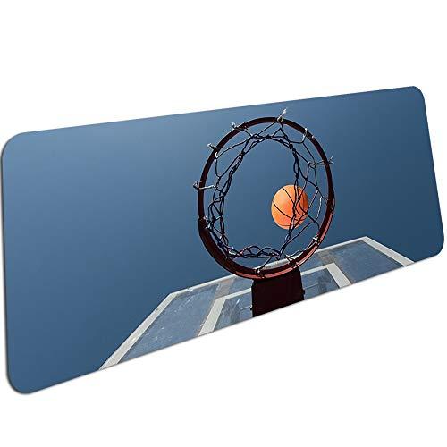 Basketball Drucken Einfaches Spiel Mauspads Computer Gaming Mauspad Gamer Spielmatten Mousepad 600X300X3Mm