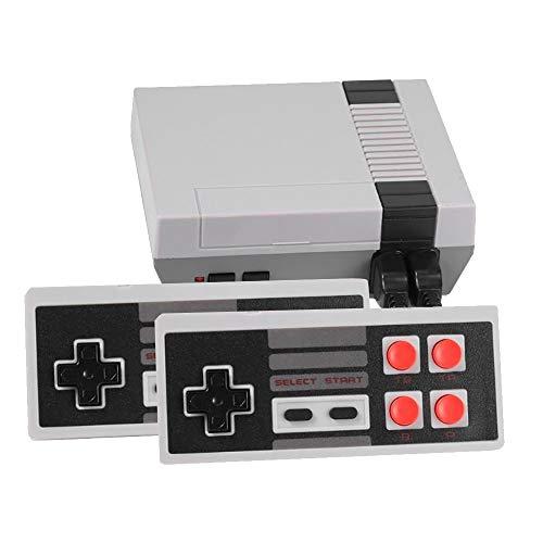 EUROXANTY® Consola de Juegos clásicos | Consola portátil | Consola con 620 Juegos | Dos Jugadores | Plug and Play | Videojuegos Retro | 620 Juegos clásicos
