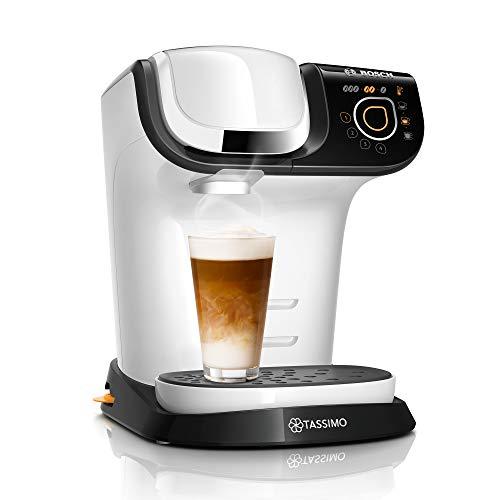 Tassimo My Way 2 Kapselmaschine TAS6504 Kaffeemaschine by Bosch, mit Wasserfilter, über 70 Getränke, Personalisierung, vollautomatisch, einfache Zubereitung, 1.500 Watt, 1,3 Liter, weiß