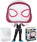 Funko Pop! Marvel: Spider-Gwen #146 Vinyl Figure (Bundled with Pop Box Protector Case)