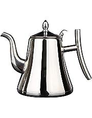 Baalaa Rostfritt stål vattenkokare tekanna tjock med filter tekanna kaffekanna induktion spis te vattenkokare gyllene