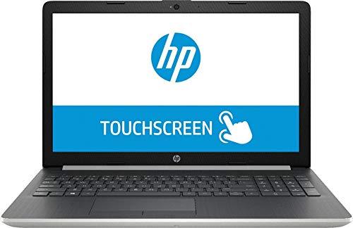 "2020 HP 15 15.6"" Touchscreen Laptop Computer, Intel Quad-Core i5-8265U Up to 3.9GHz (Beats i7-7500U), 8GB DDR4 RAM, 1TB HDD, DVDRW, 802.11AC WiFi, HDMI, Silver, Windows 10, BROAGE Mouse Pad"