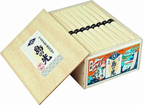 小豆島手延べそうめん 小豆島素麺 【木箱入り】 特級黒帯 1.8kg 36束