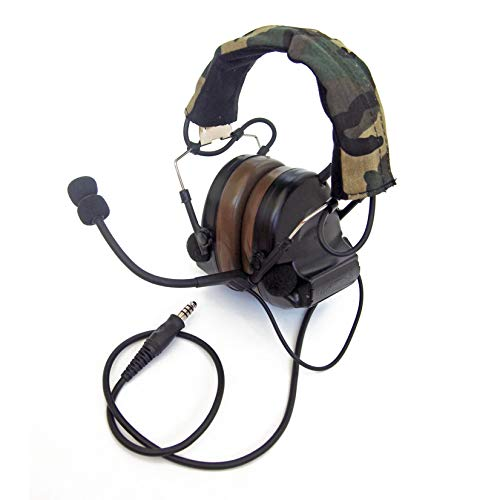 The Mercenary Company Elektronischer Gehörschutz und Headset -  Schwarz -  Einheitsgröße