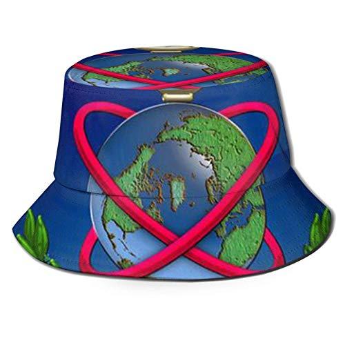 Lawenp Agencia de Inteligencia de Defensa de EE. UU. Sombreros de Sol Unisex Sombrero de Playa Sombrero de Pescador Transpirable Plegable Verano al Aire Libre