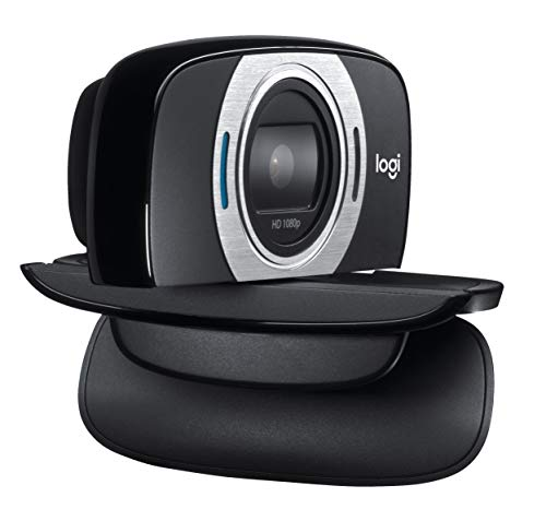 Logitech C615 - webcams (1920 x 1080 pixels, 1080p, 720p, 1280 x 720 pixels, USB 2.0, Black, 2.4 GHz Intel Core 2 Duo) (Certified Refurbished)