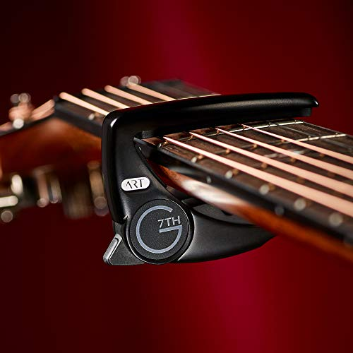 G7th Performance 3 Capo with ART (Steel String Satin Black)