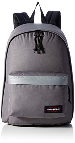 Eastpak Out of Office Zaino, 44 cm, 27 L, Grigio (Reflective Grey)
