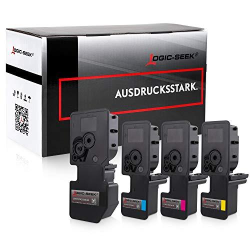 4 Logic-Seek Toner kompatibel zu Kyocera TK-5240 für Kyocera Ecosys P5026cdw M-5526cdn M-5526cdw P-5026cdn