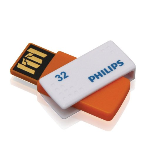 Philips Sato - Memoria USB 2.0 de 32 GB, Color Naranja