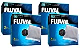 Fluval C4 Carbon - 12 Filters Total (4 Packs with 3 Filters per Pack)