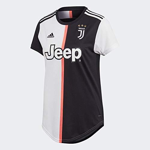 adidas Damen Juve H JSY W Hemd, schwarz/weiß, M