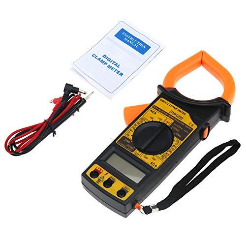 LCD Digital Multimeter Strommesszange Amperemeter Voltmeter AC DC Volt Ampere Leser Test Zangenmessgerät