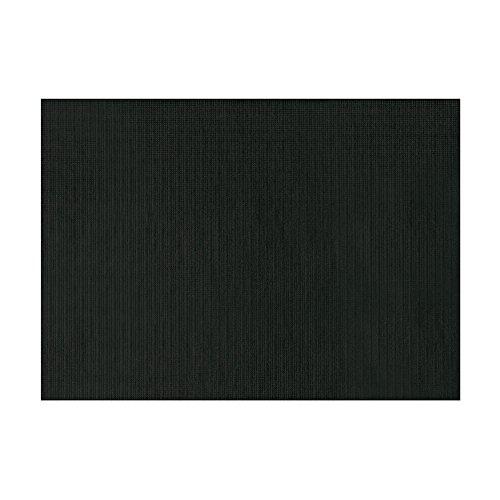 García de Pou Mantelines Individuales, Celulosa Extra, Negro, 31X43 cm, 500