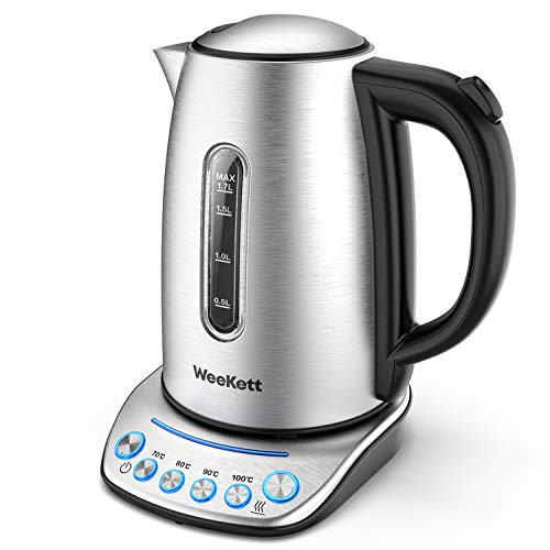 (NOT WiFi) Electric Kettle WEEKETT | 4 Temperature Control 2200W with Keep...