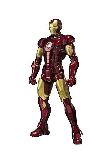 Bandai S.H.Figuarts Iron Man Mark 3 155mm ABS PVC Die Cast Figure