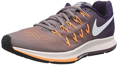 Nike Wmns Air Zoom Pegasus 33, Scarpe da Ginnastica Donna, Viola (Purple Smoke/White/Purple Dynasty), 42 EU