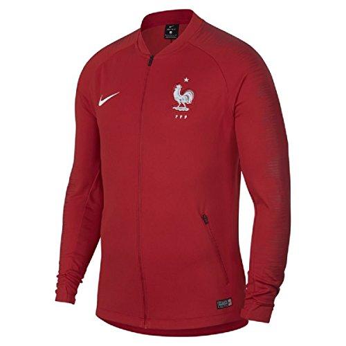 Nike Herren Frankreich FFF Anthem WM 2018 Jacke, rot, M-44/46