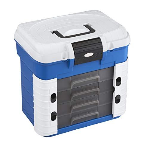 Plastica Panaro 503.270N Zum Transportieren, Schützen und Organisieren der Angelausrüstung, blau, Einheitsgröße